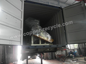 copper granulator in truck